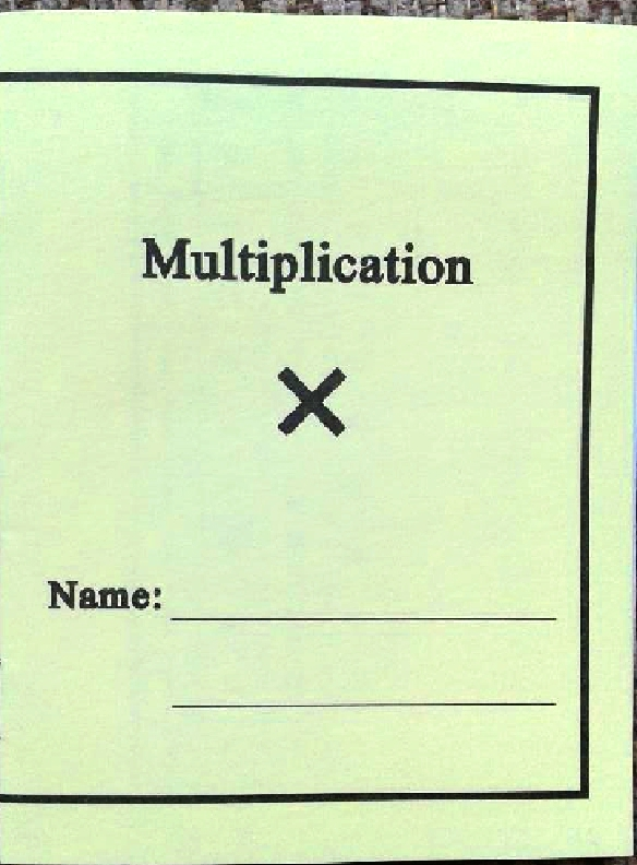 #26 Multiplication Booklets