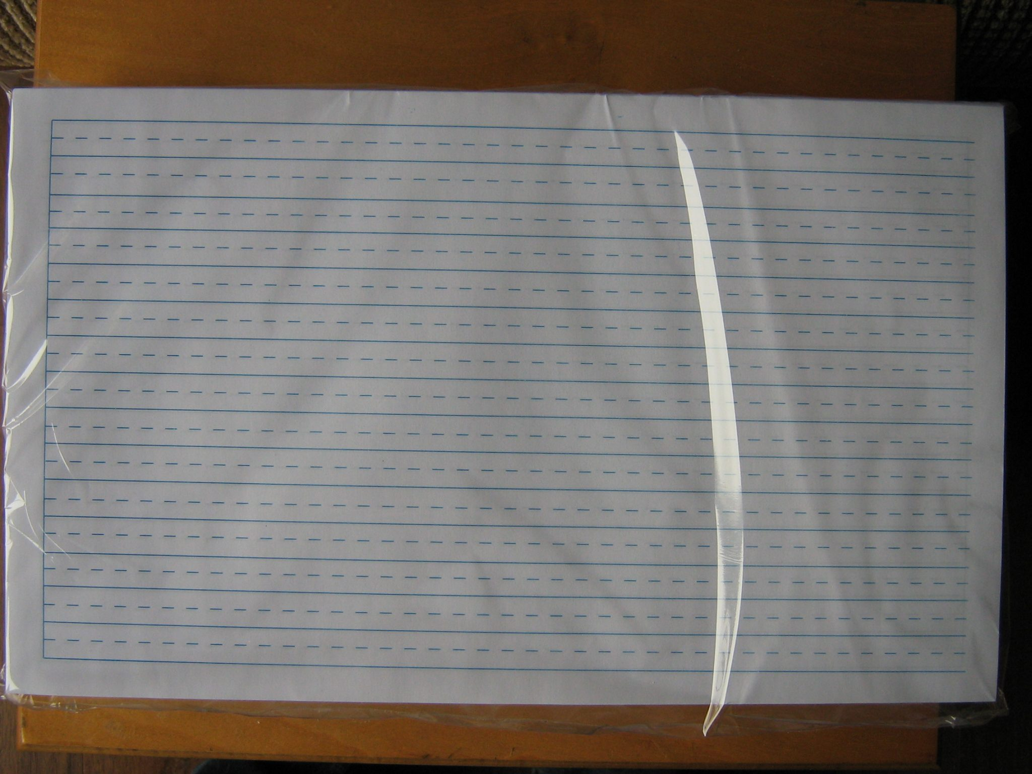 #77C Full Sized Dotted Lined Paper 8.5u2033 X 14u2033 U2013 500 Sheets/pkg., Double  Sided  Double Lined Paper