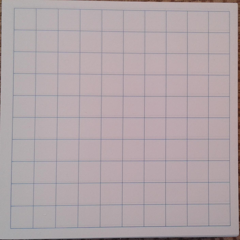 half inch grid paper
