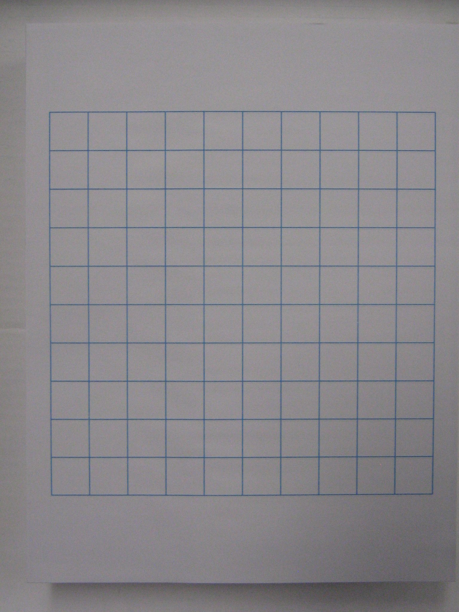 Graph Paper Template 8.5 X 11 #10 letter sized 3/4″ graph