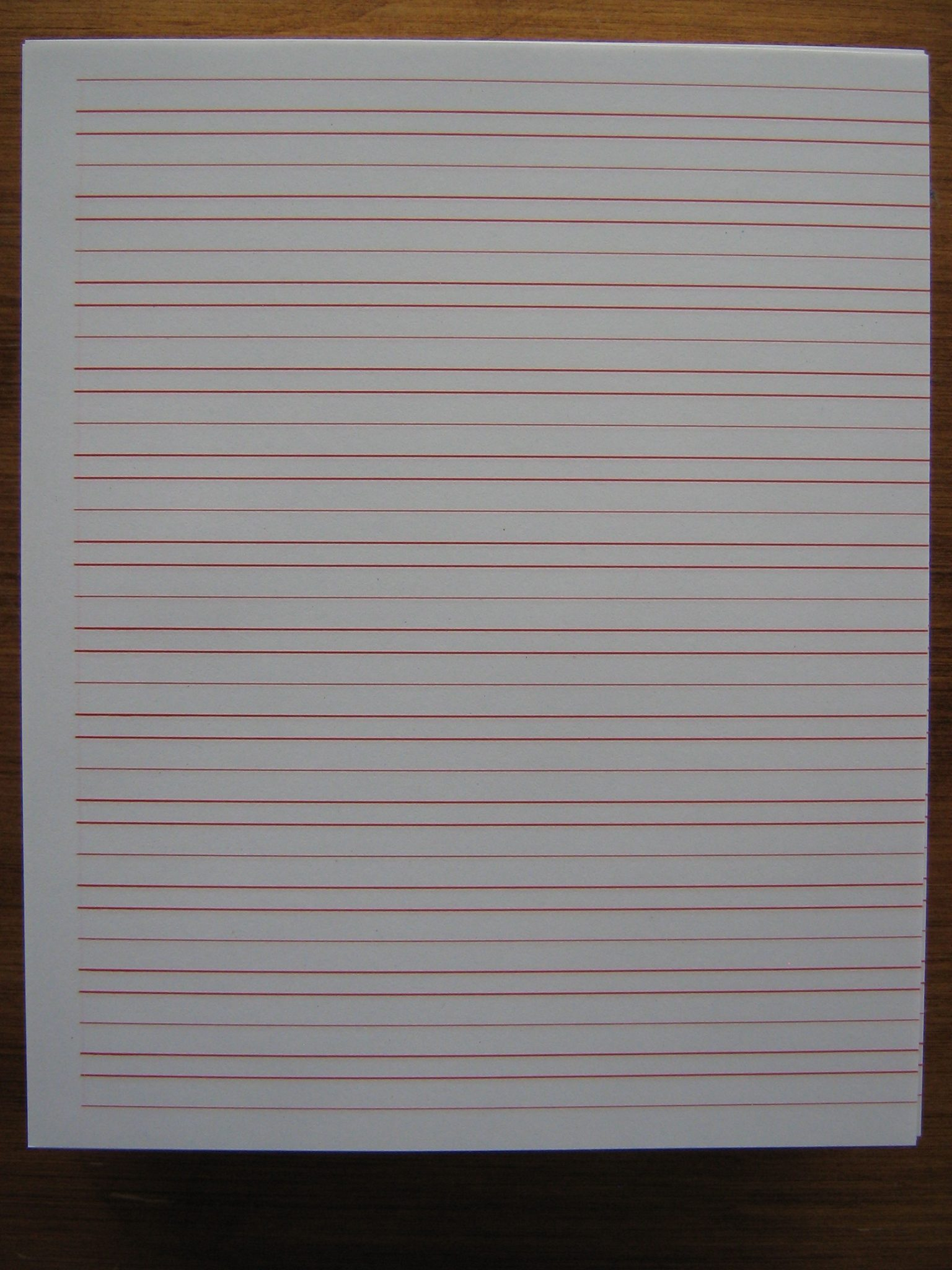 narrow ruled paper Why is lined paper called 'college ruled' by mark mancini june 28, 2016 or fewer separate the lines on narrow-ruled paper by and large, wide ruled paper is the preferred choice of elementary school teachers it's an especially common sight in kindergarten, first.