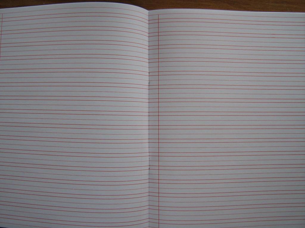 46l narrow ruled notebooks letter sized  pkg