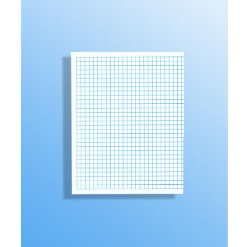 55 1/4 Inch Graph Paper – Sheet Size: 8.5″ X 7″ – 500 Shts/Pkg