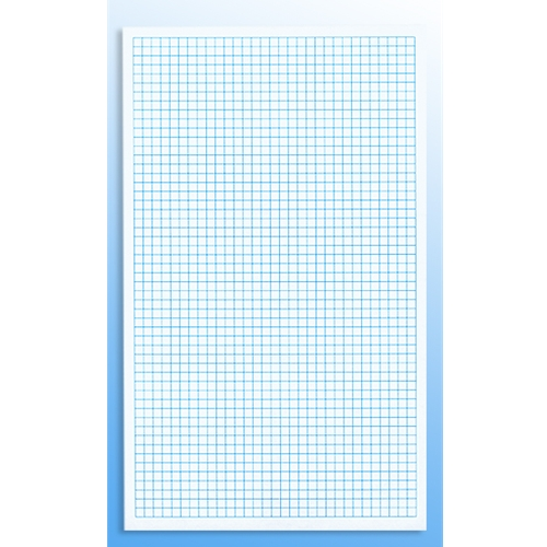 55C Full Size 1/4 Inch Graph Paper – Sheet Size 8.5″ X 14″ – 500